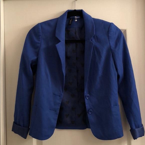 H&M Jackets & Blazers - H&M Royal Blue Blazer |Size 4|— Never Worn